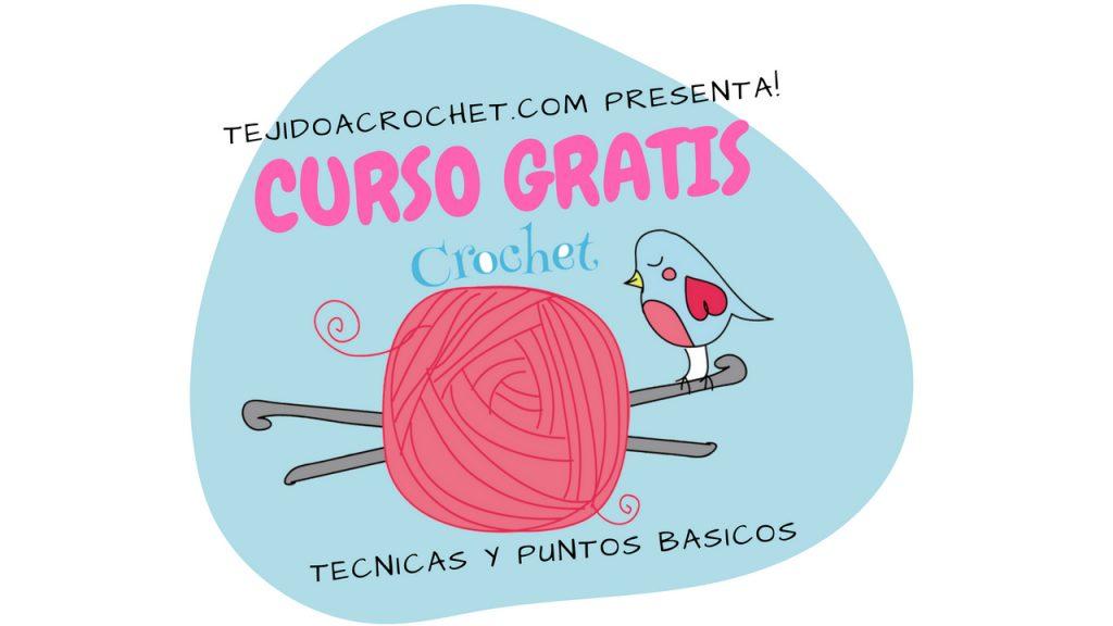 👉🏻Curso de Crochet – 😍Técnicas y Puntos básicos💖