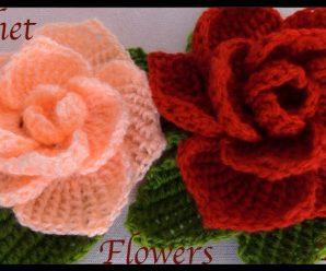 CURSO GRATIS: Flores Rosas Gigantes