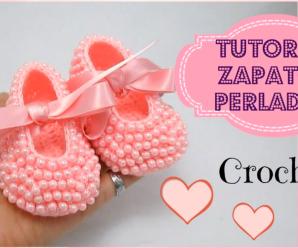 👉🏻Curso Gratis: 😍Zapatitos perlados para bebés 👶🏼 todas las tallas