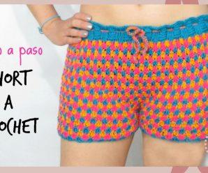 👉🏻Curso Online: 🔥Short a Crochet 😊