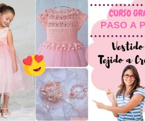 😍Hermoso vestido tul para niña – tutorial- te encantara!👈
